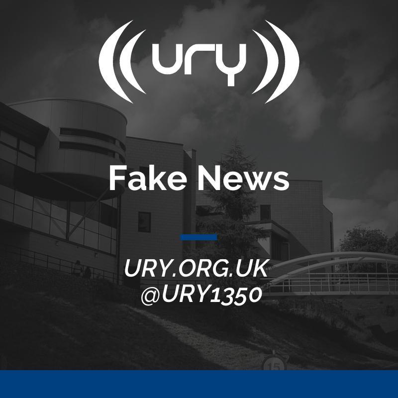 URY N&S: Fake News  Logo