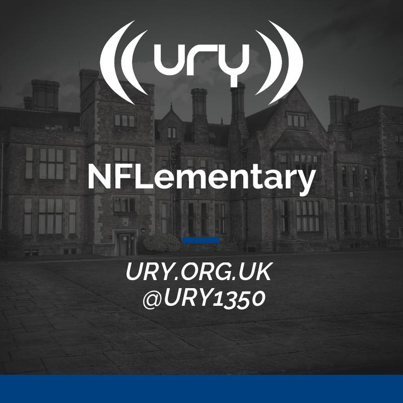 URY News and Sport: NFLementary logo.