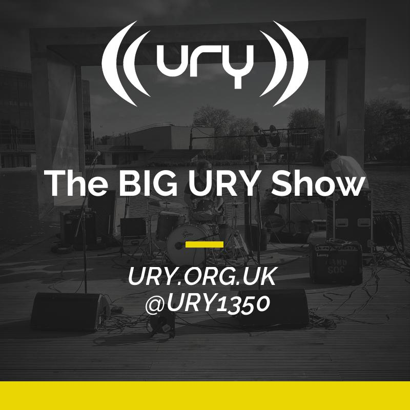 URY:PM - The BIG URY Show logo.