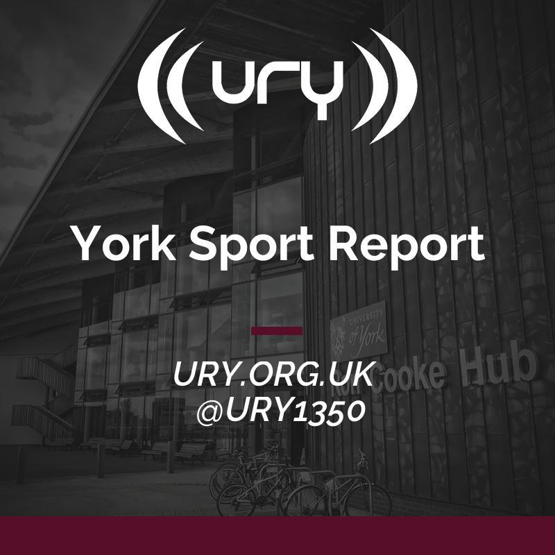 York Sport Report logo.