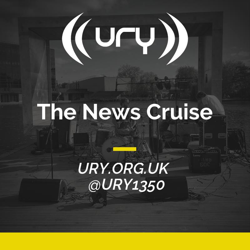 URY Brunch: The News Cruise logo.