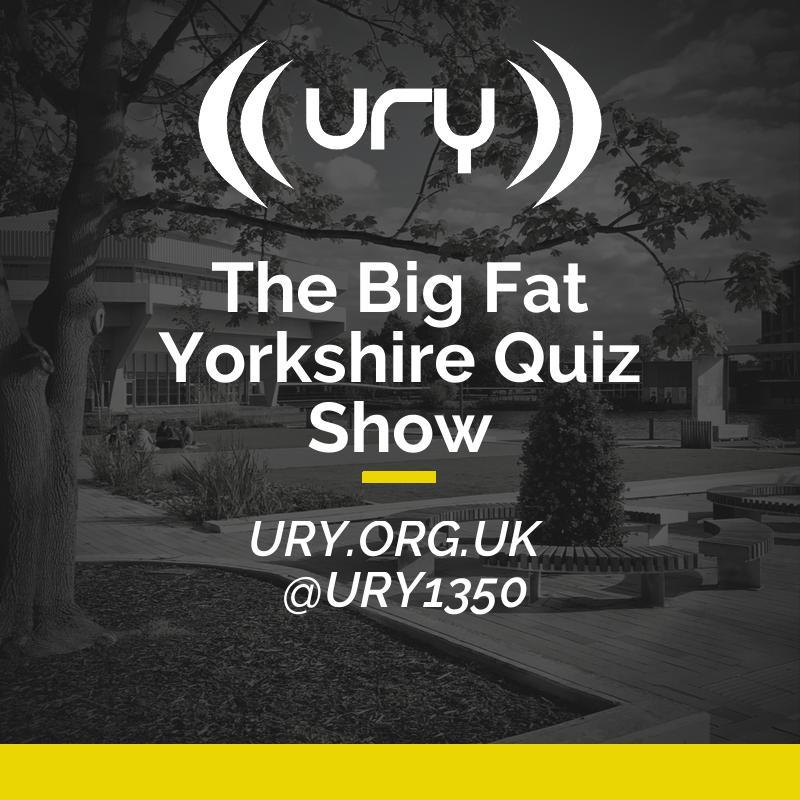 URY Brunch: The Big Fat Yorkshire Quiz Show Logo