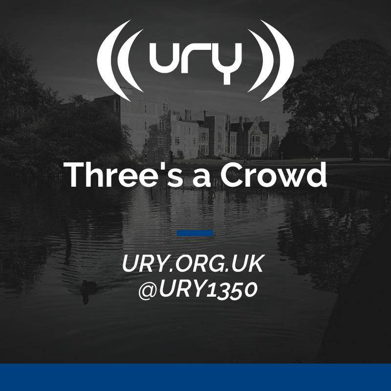 URY Brunch: Three's a Crowd  logo.