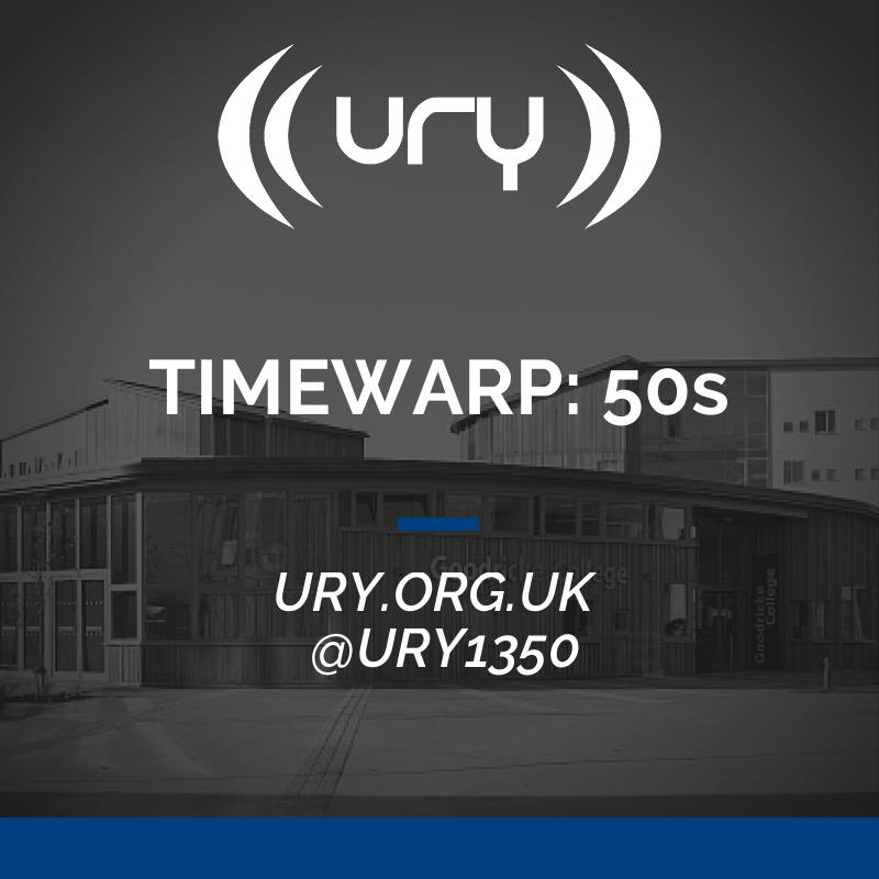 TIMEWARP: 50s logo.