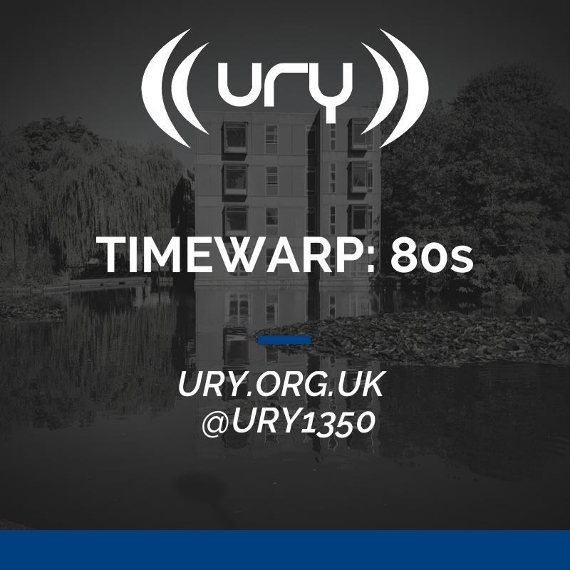 TIMEWARP: 80s logo.