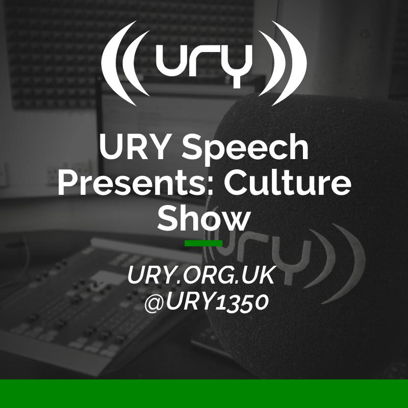 URY Speech Presents: Culture Show logo.