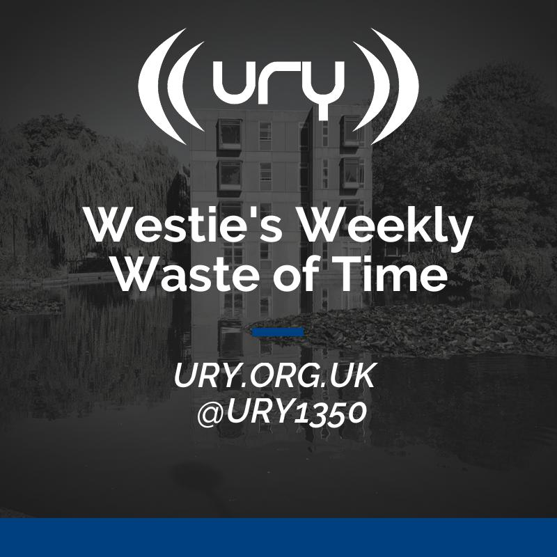 Westie's Weekly Waste of Time logo.