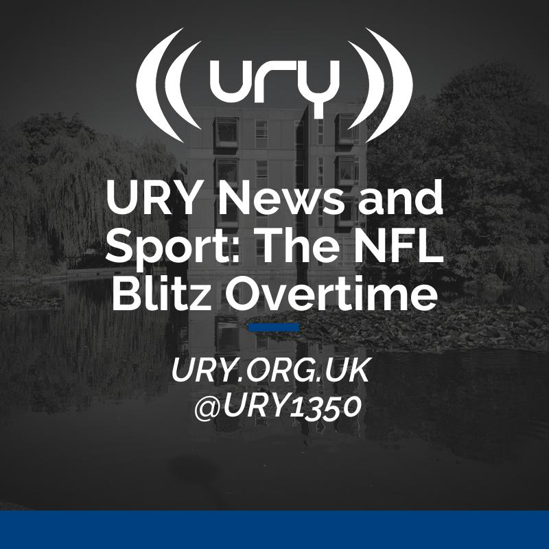 URY News and Sport: The NFL Blitz Overtime logo.