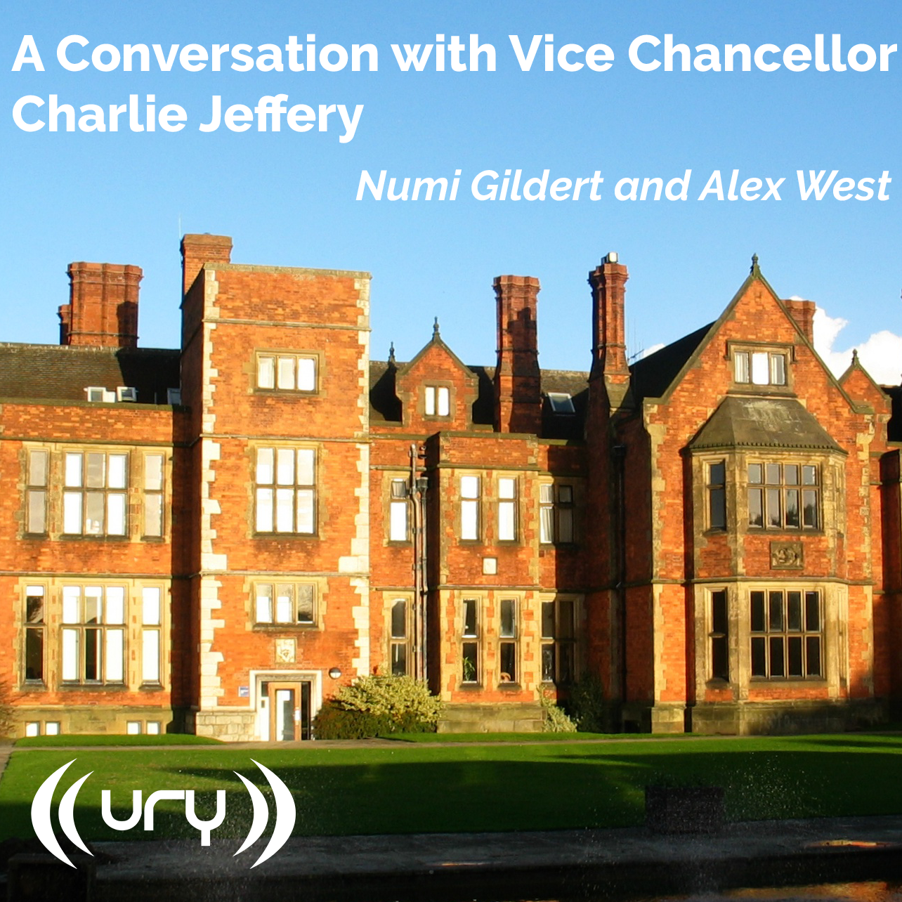 A Conversation with Vice-Chancellor Charlie Jeffery Logo