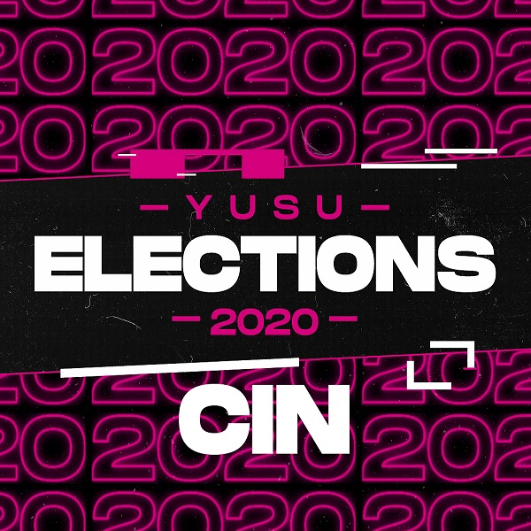 YUSU Elections 2020: Candidate Interview Night logo.