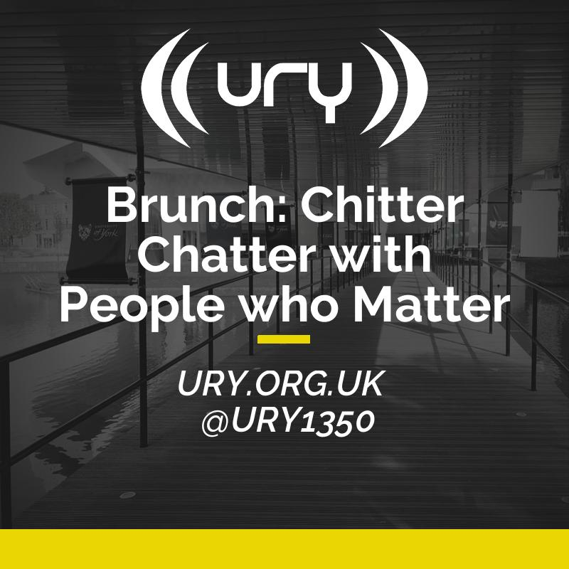 Brunch: Chitter Chatter with People who Matter Logo