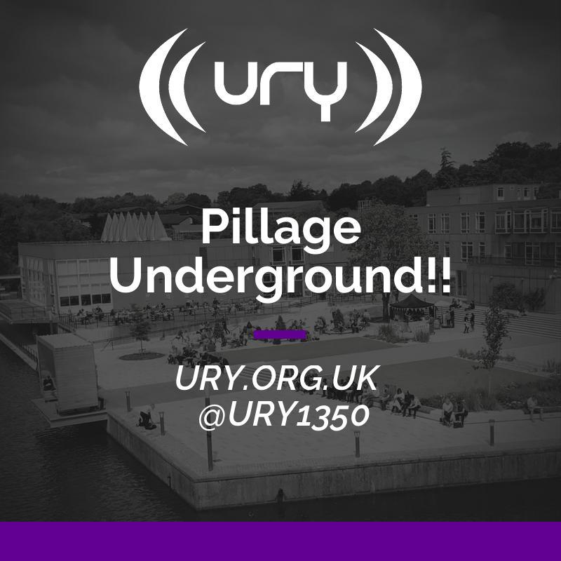 Pillage Underground!! logo.