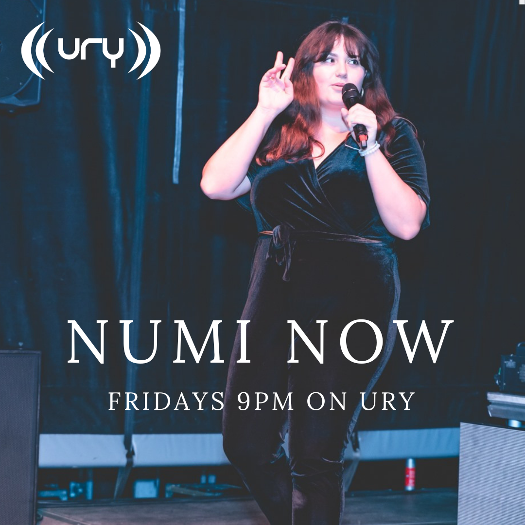 Numi Now logo.