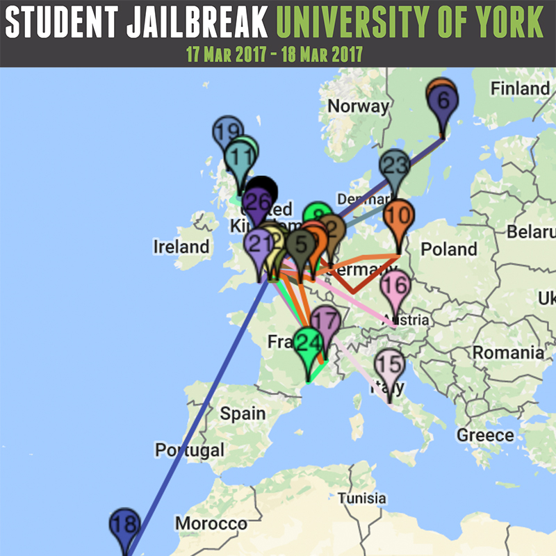 URY Presents: Jailbreak! Logo
