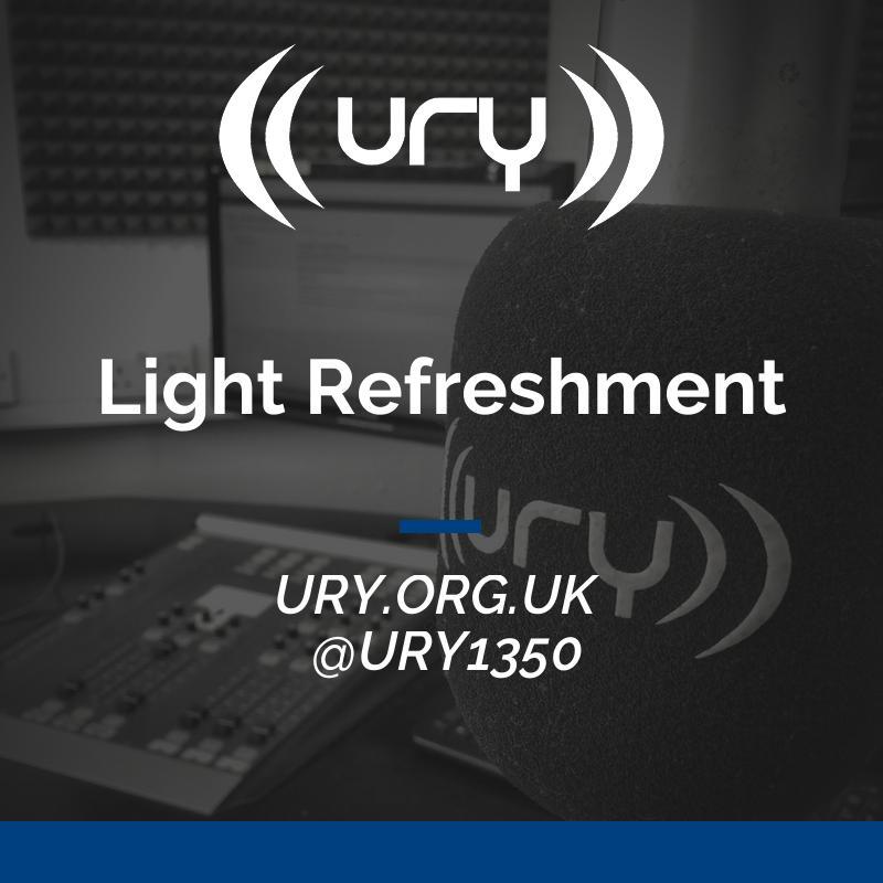 Alumni Shows: Light Refreshment Logo
