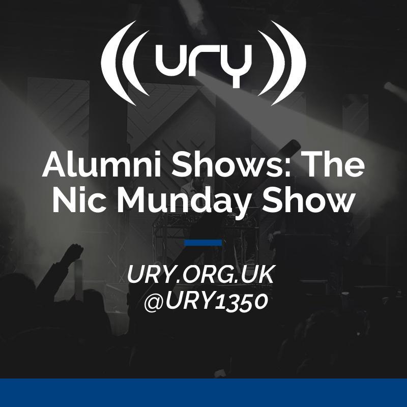 Alumni Shows: The Nic Munday Show logo.