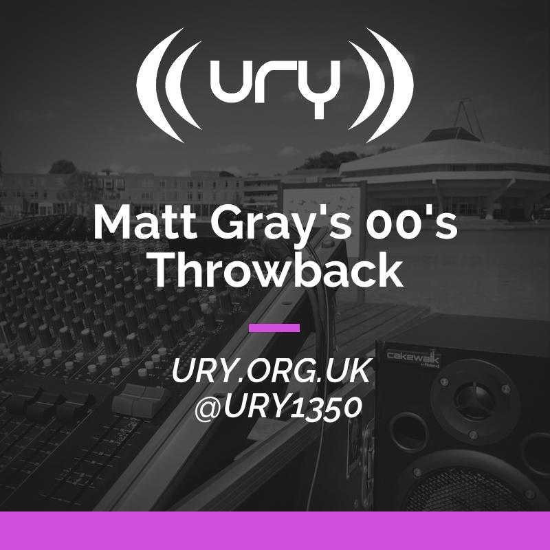 Alumni Shows: Matt Gray's 00's Throwback Logo