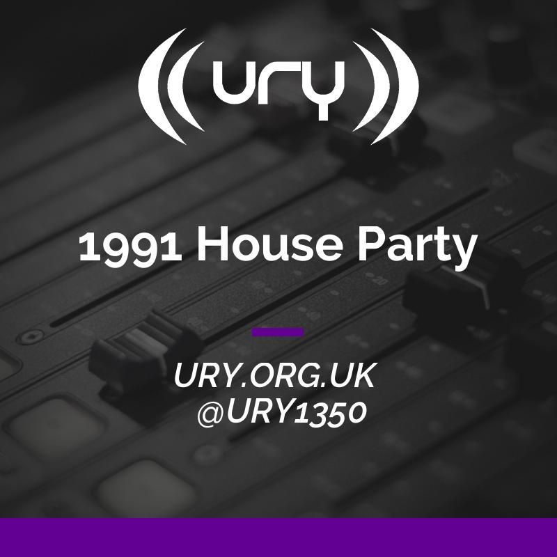 Alumni Shows: 1991 House Party logo.