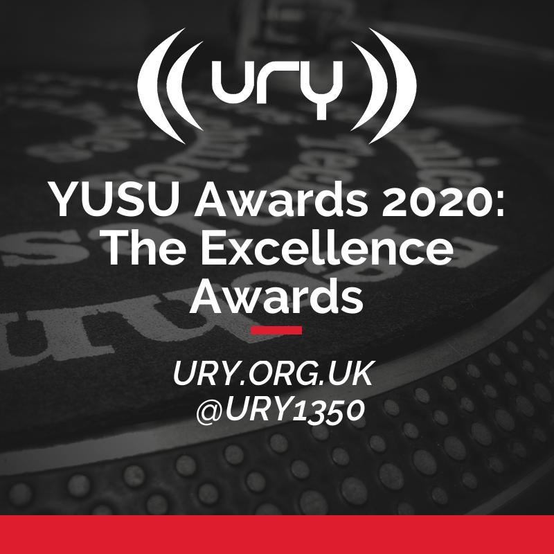 YUSU Awards 2020: The Excellence Awards logo.