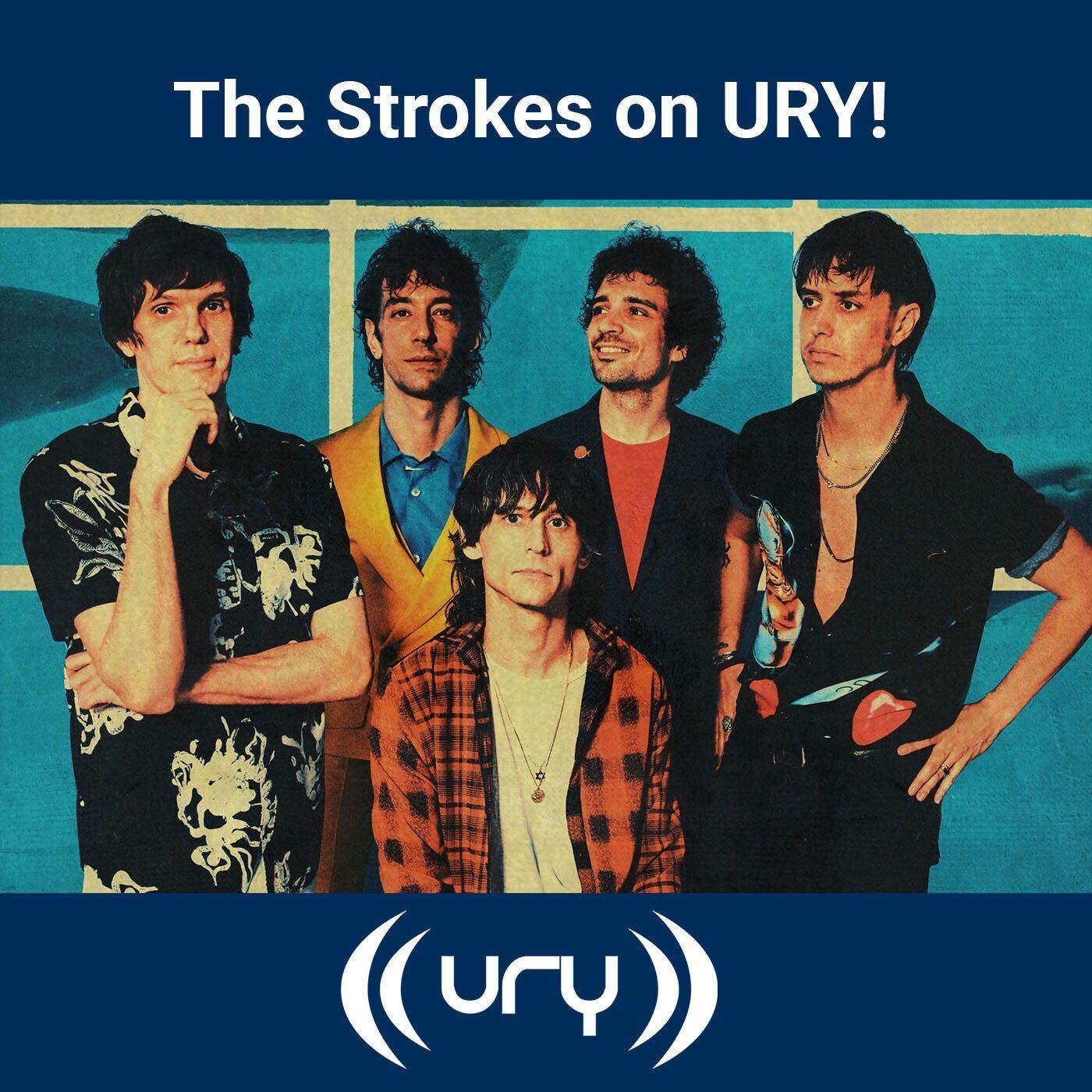 The Strokes on URY! Logo