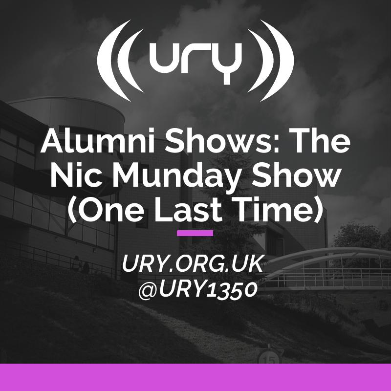 Alumni Shows: The Nic Munday Show (One Last Time) Logo