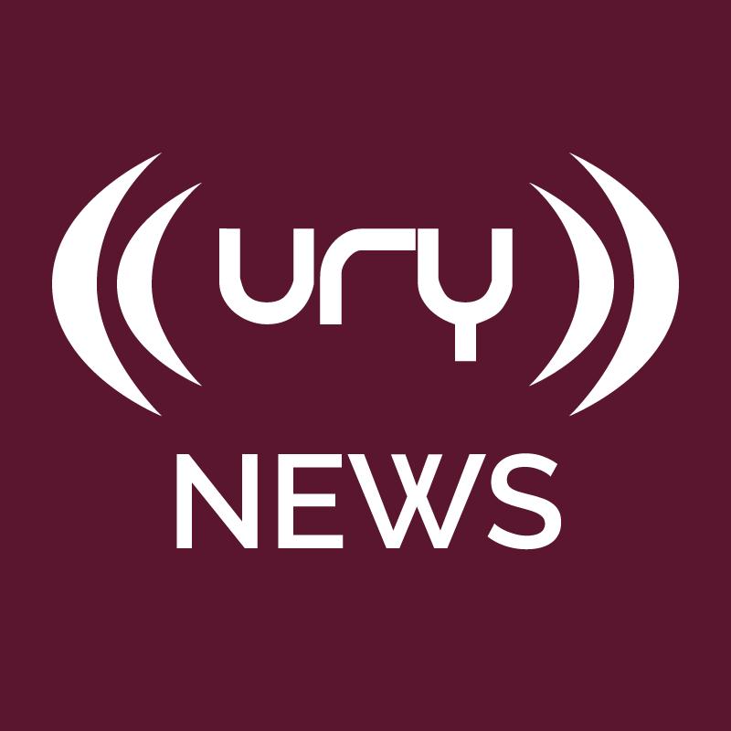URY Newshour logo.