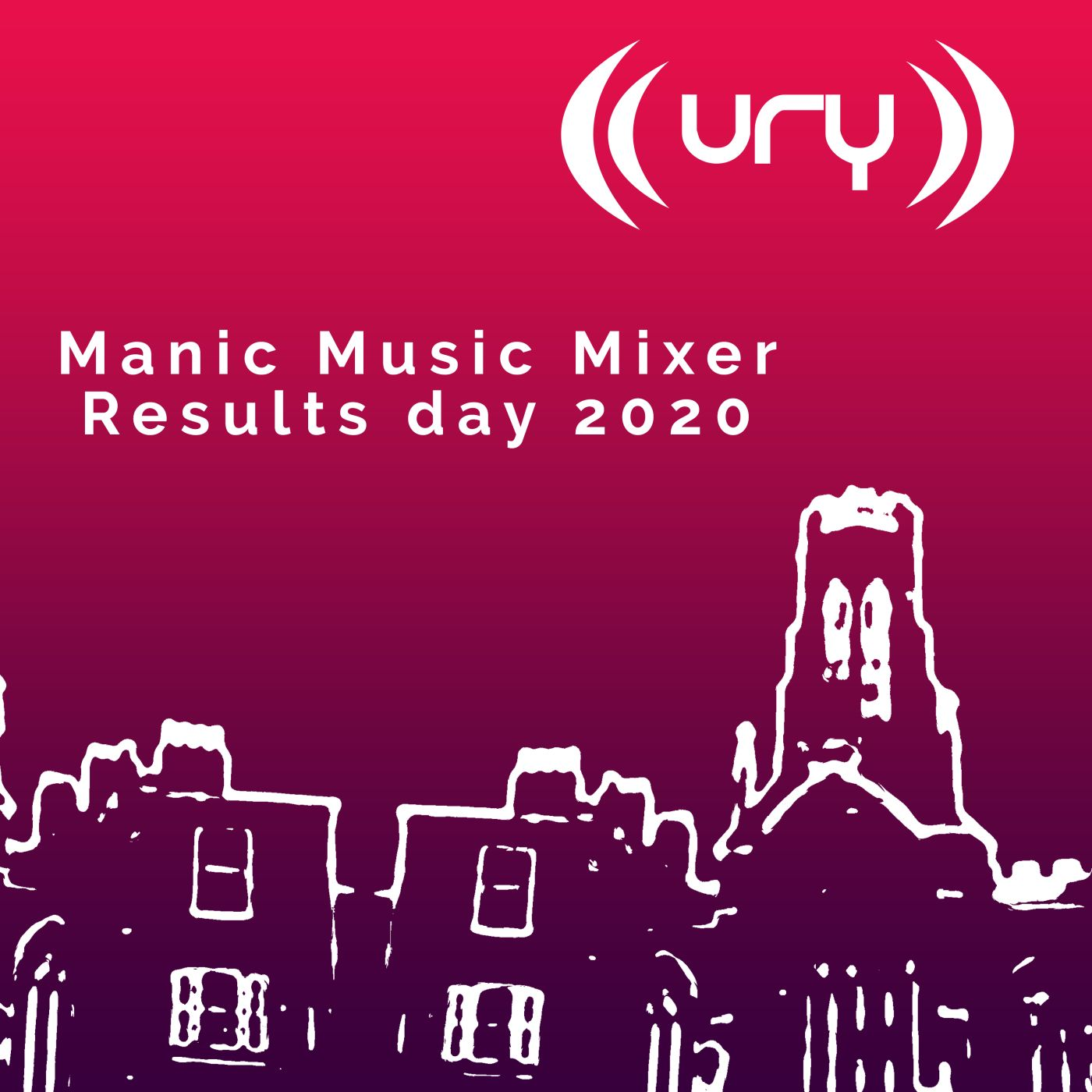 Manic Music Mixer: Results Day Special Logo
