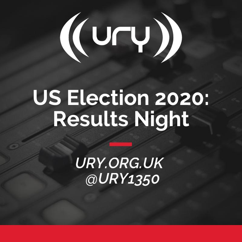 US Election 2020: Results Night logo.