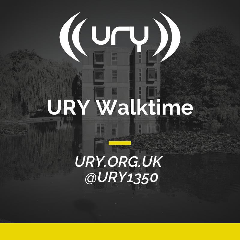 URY Walktime logo.