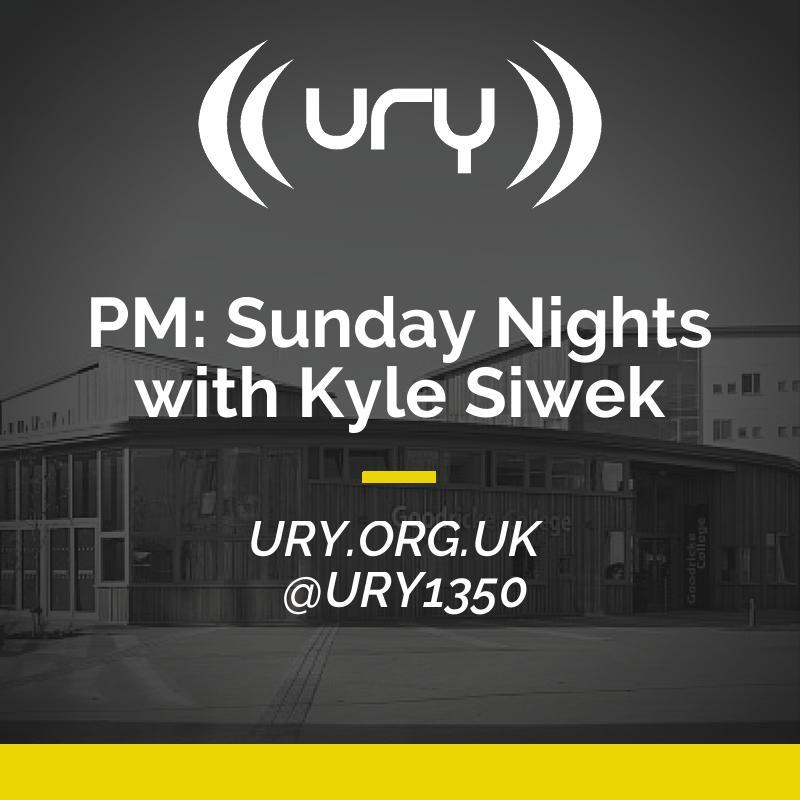PM: Sunday Nights with Kyle Siwek logo.