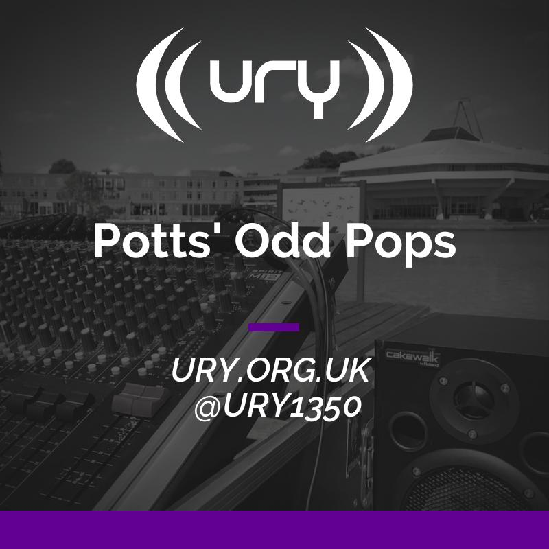 Potts' Odd Pops logo.