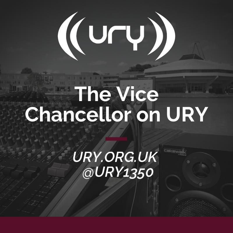 The Vice Chancellor on URY logo.