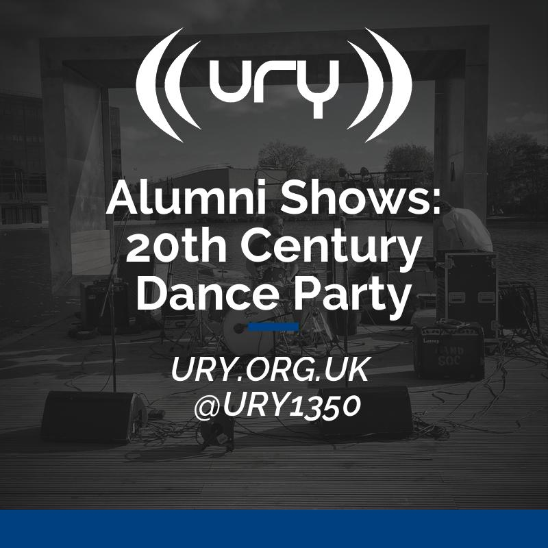Alumni Shows: 20th Century Dance Party logo.