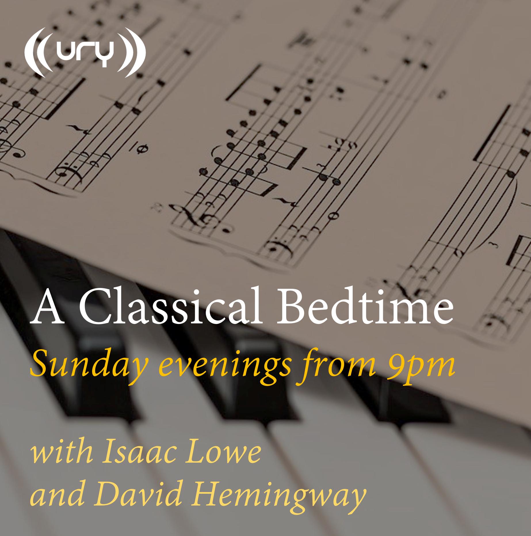 A Classical Bedtime logo.