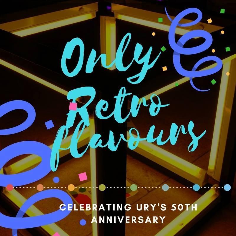 Alumni Takeover: Only Retro Flavours Returns Logo