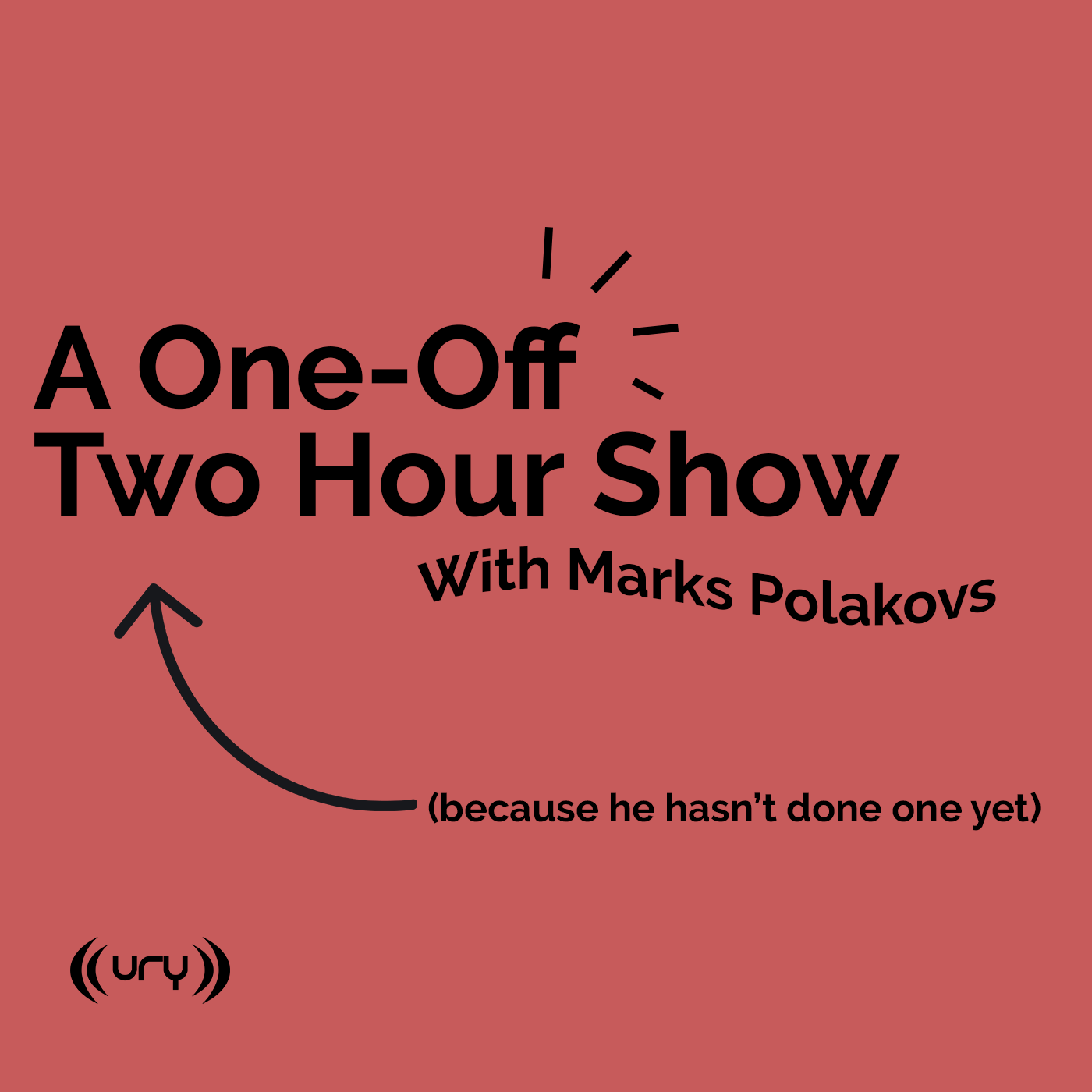 A One-Off Two Hour Show Logo