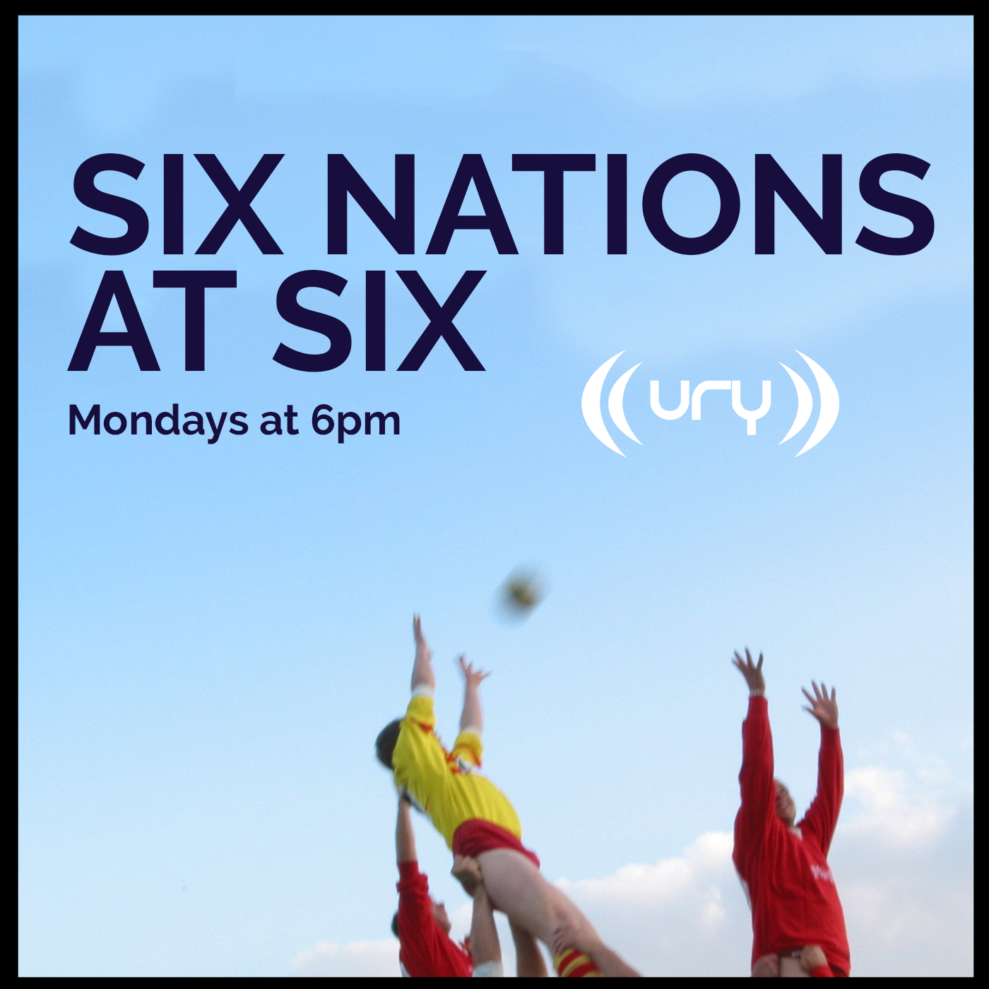 Six Nations at Six logo.