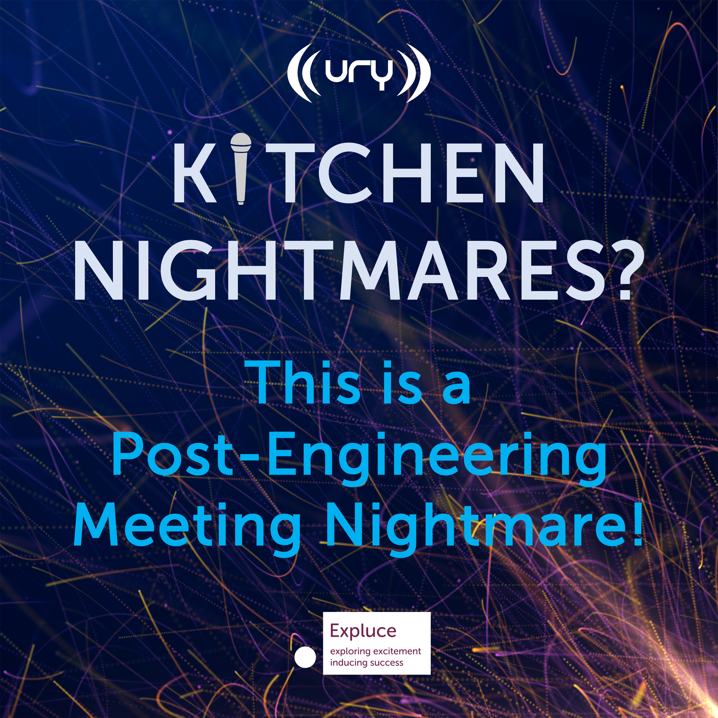 Kitchen Nightmares? This is a Post-Engineering Meeting Nightmare! Logo