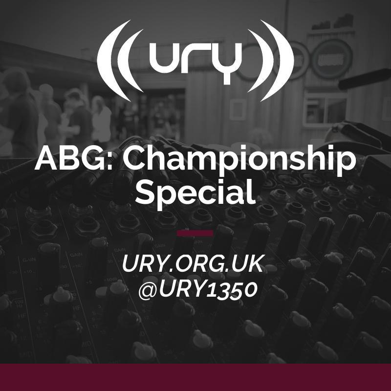 ABG: Championship Special logo.