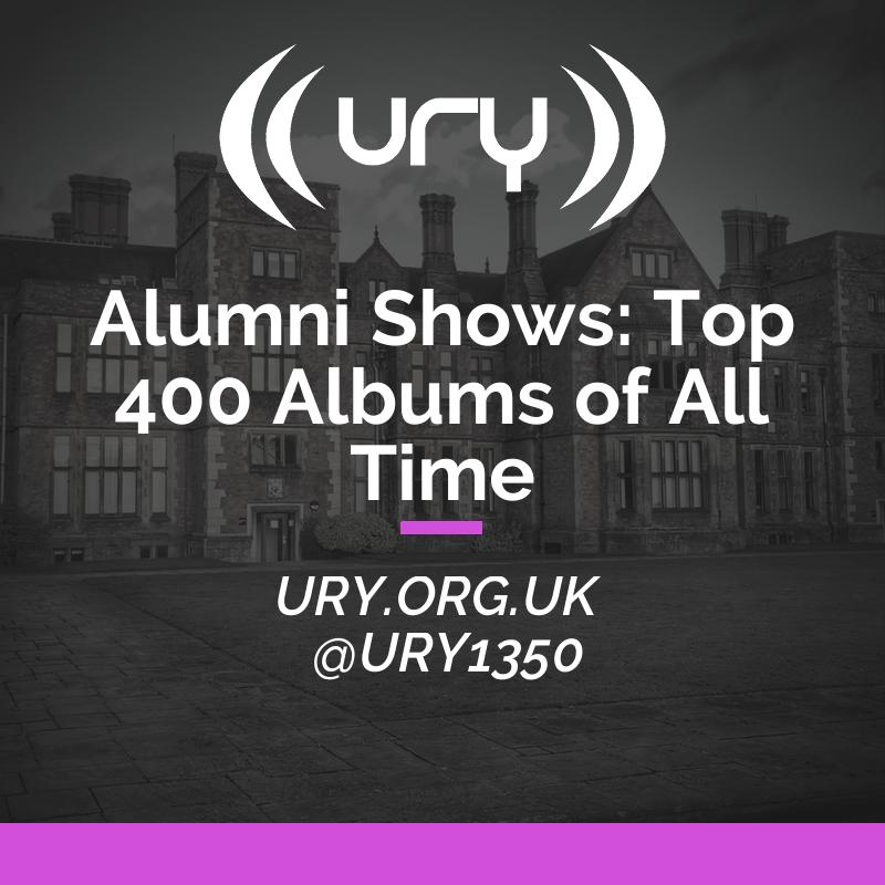 Alumni Shows: Top 400 Albums of All Time logo.