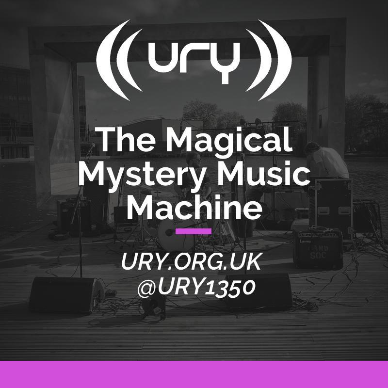 Alumni Shows: The Magical Mystery Music Machine Logo