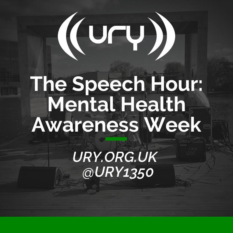 The Speech Hour: Mental Health Awareness Week logo.