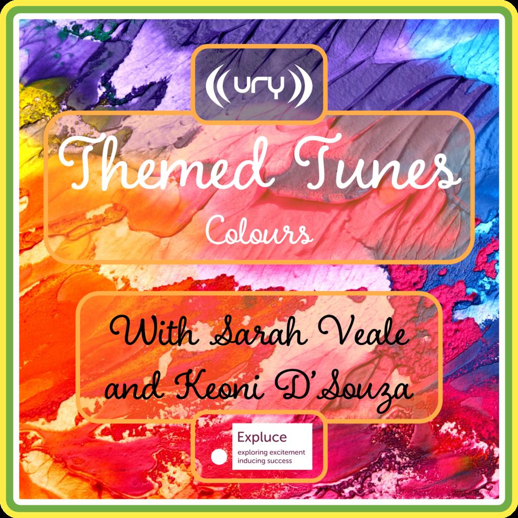 Themed Tunes logo.