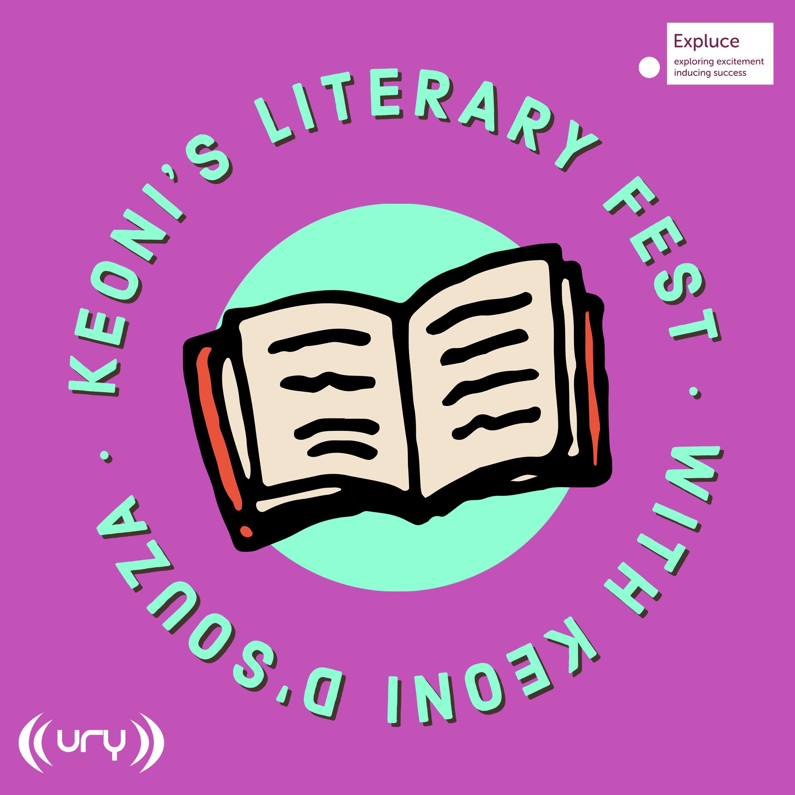 Keoni's Literary Fest logo.