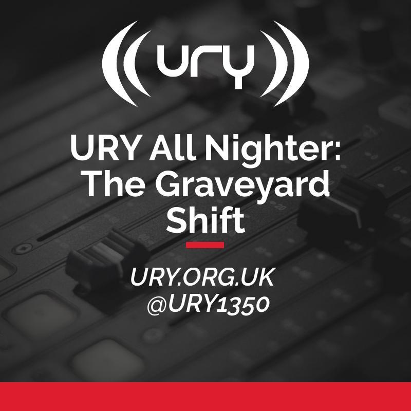 URY All Nighter: The Graveyard Shift Logo