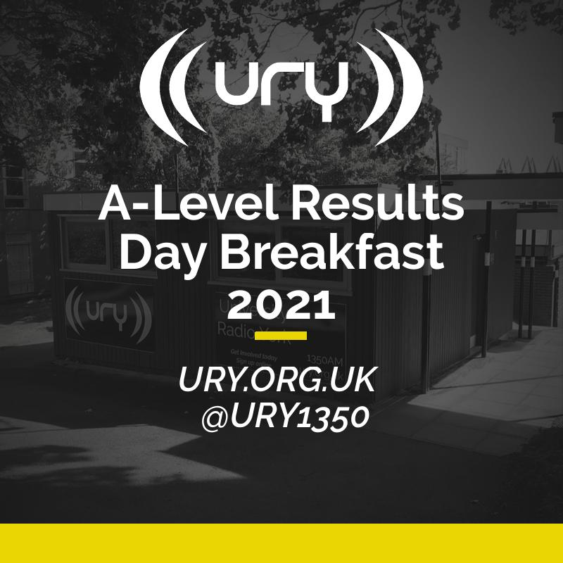 A-Level Results Day Breakfast 2021 logo.