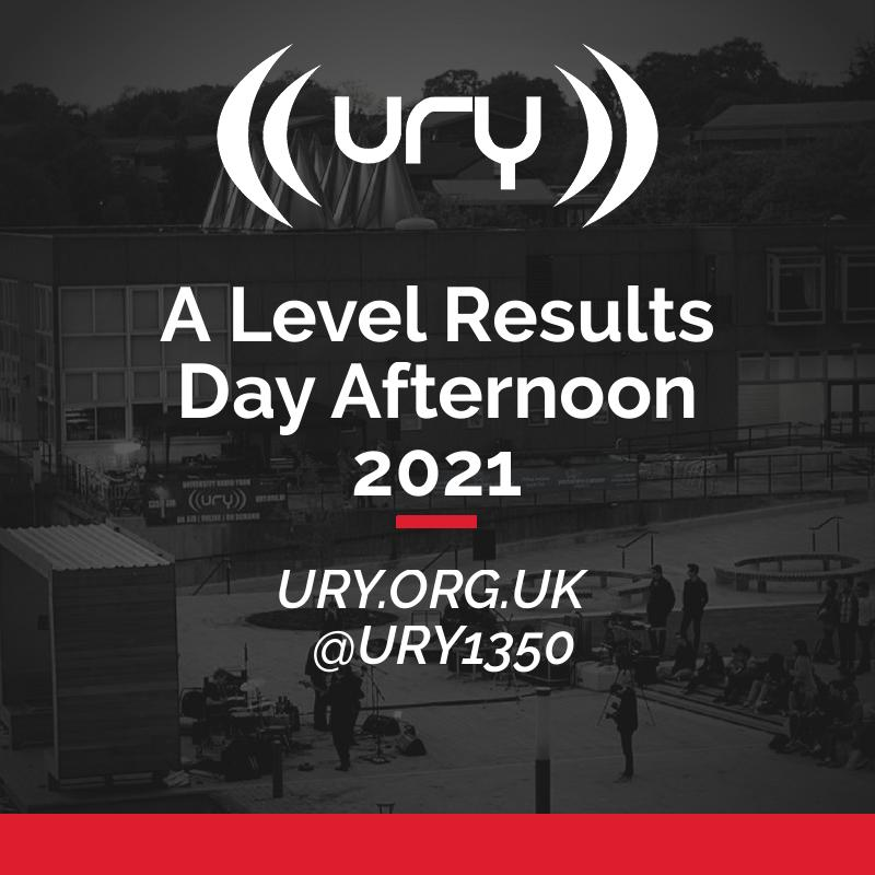 A Level Results Day Afternoon 2021 logo.