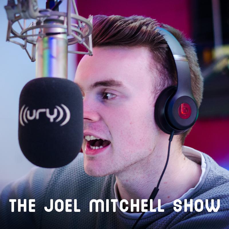 URY:PM - The Joel Mitchell Show Logo