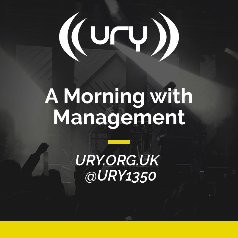 A Morning with Management logo.