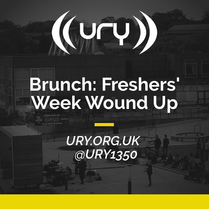 Brunch: Freshers' Week Wound Up logo.